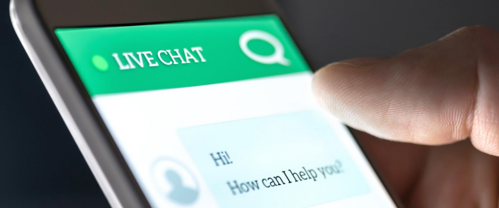 Chatbot live chat