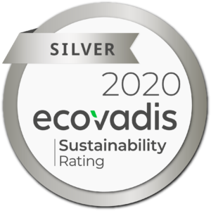 ecovadis sustainability rating 2020 silver