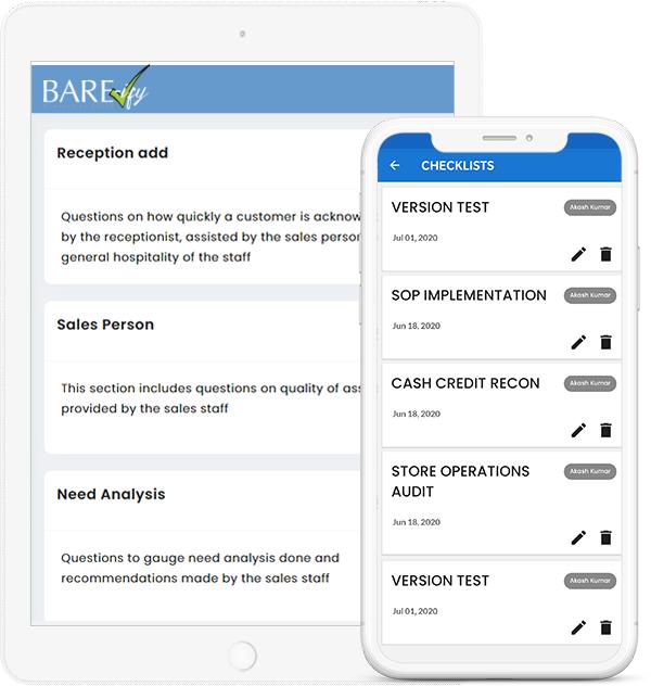 BARE/ify Checklist